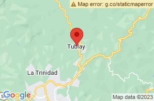 Map of Tublay, Tublay Benguet