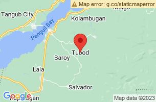 Map of Songkoy Cold Spring, Tubod Surigao del Norte
