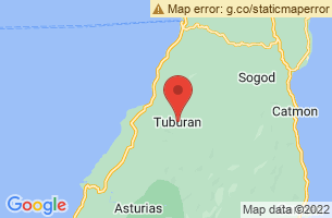 Map of Tuburan, Tuburan Cebu