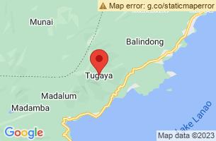 Map of Tugaya, Tugaya Lanao del Sur