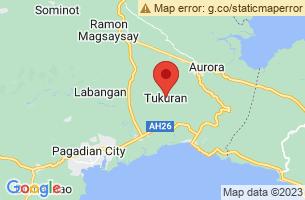 Map of Tukuran, Tukuran Zamboanga del Sur