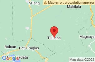 Map of Tulunan, Tulunan Cotabato