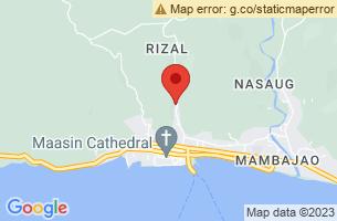 Map of Tunga, Tunga Leyte