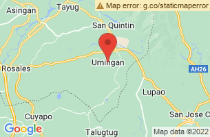 Map of Umingan, Umingan Pangasinan