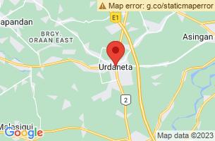 Map of Urdaneta City, Urdaneta City Pangasinan
