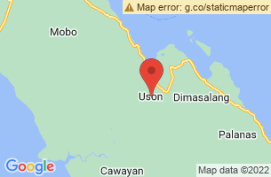 Map of Uson, Uson Masbate