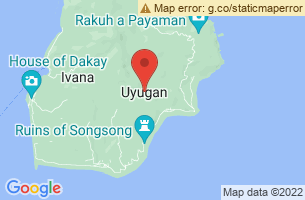 Map of Racuh a Payaman, Uyugan Batanes