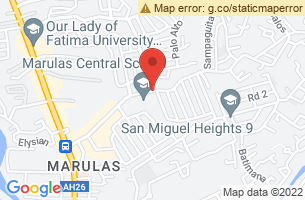 Map of Valenzuela, Valenzuela Manila