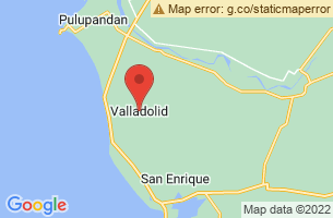 Map of Valladolid, Valladolid Negros Occidental