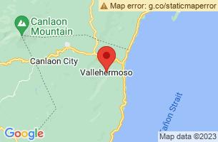 Map of Vallehermoso, Vallehermoso Negros Oriental