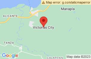 Map of Gawahon Eco-Park, Victorias City Negros Occidental