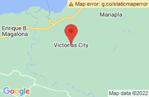 Map of Victorias City, Victorias City Negros Occidental