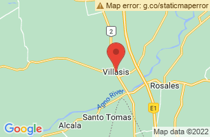 Map of Villasis, Villasis Pangasinan