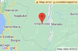 Map of Limbo Lake, Villaviciosa Abra