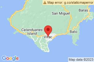 Map of Virac, Virac Catanduanes