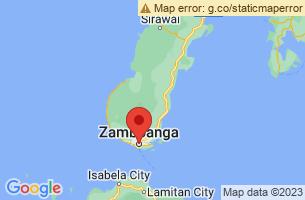 Map of Zamboanga City, Zamboanga City Zamboanga del Sur
