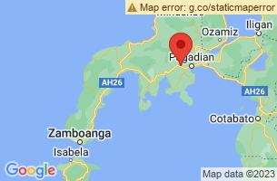 Map of Zamboanga del Sur,