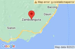 Map of Zamboanguita, Zamboanguita Negros Oriental