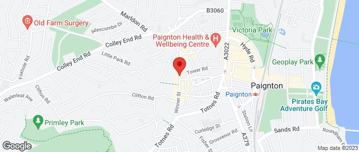 Weddings - Torquay, Devon - Marldon Marquees Ltd - Location Map