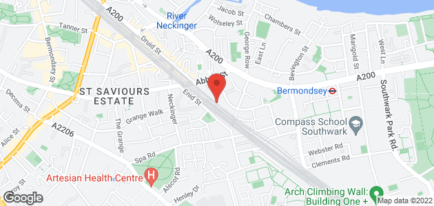 Unique furniture - London - Oval Workshop Ltd - Location Map