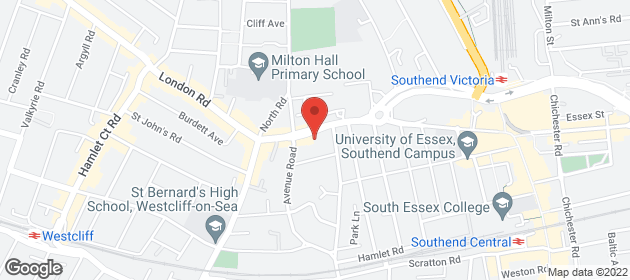 Leaded Lights - Southend - Ledlite Glass (Southend) Ltd. - Location Map