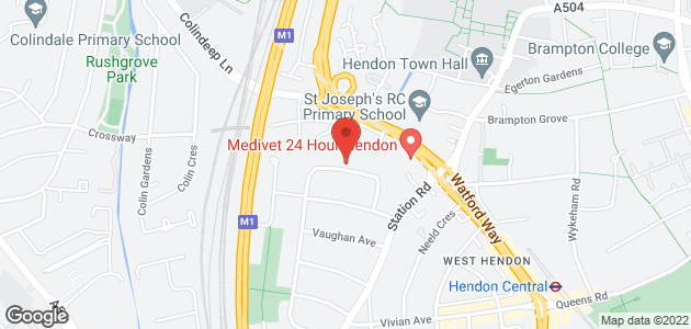 Burst pipe - Hendon, London - Alpine Plumbers Ltd - map