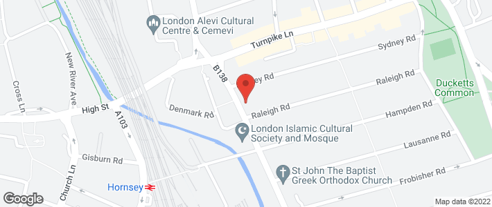 Appliance Delivery - Hornsey - Hornsey Appliance Centre - Location Map