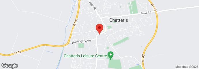Dental treatment - Chatteris, Cambridgeshire - The Hollies Dental Practice - Location map