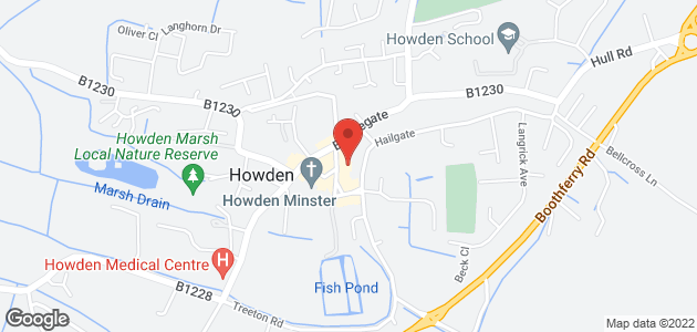Beauty treatments - Goole - Veronica Beauty & Laser Clinic - Location Map
