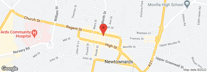 Wedding dresses - Newtownards - Ards Bridal House - Map