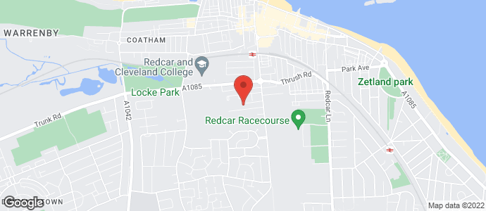 Window Fitter - Redcar, Cleveland - Crombie Smith -  Location Map