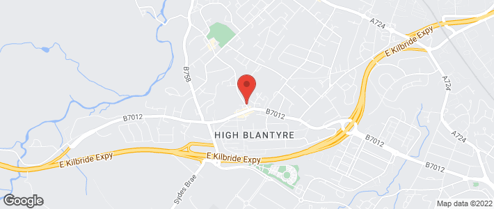 South Lanarkshire Council Approved - Glasgow, Lanarkshire - Ally Bally Bee Childcare Ltd - Map