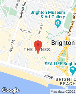 Original works - Brighton, East Sussex - J'Adore Art - Location Map