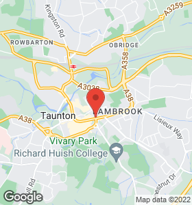 Location Map - sewing machines - Taunton, UK - Bredons - Location Map