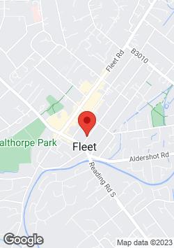 Day Care - Hartley Witney, Hampshire - ABC Kindergarten Ltd - Fleet Map