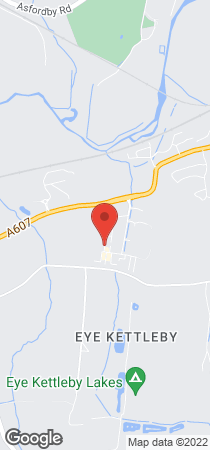 Air conditioning installation, - Leicestershire - MRS - Location Map