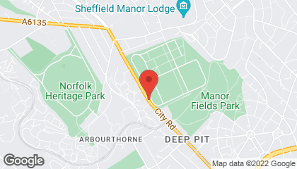Car diagnostics - Sheffield - Autotronix Vehicle Diagnostics Ltd Map Location