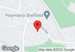 Central heating installers - Sheffield - Mark Litchfield - Map