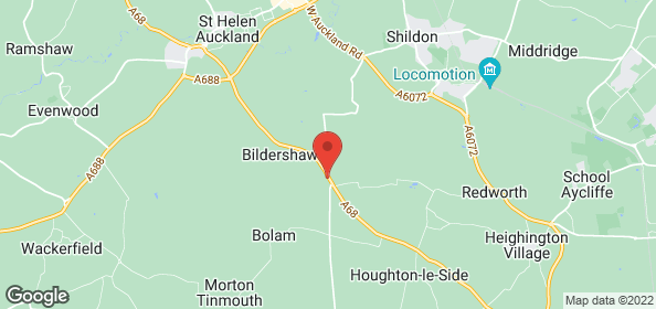 Plant hire equipment - Heighington, Darlington, County Durham - JR Butterfield Ltd - Map
