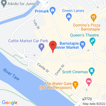 Map of business location
