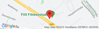 FitX Studio Essen-Bergerhausen, Ruhrallee 165