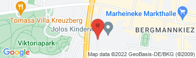 Fitness Center am Tempelhofer Berg, Am Tempelhofer Berg 6