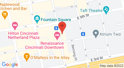 414 Walnut Street, #1100, Cincinnati, OH, 45202, United States