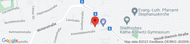 Studio P, Kriemhildenstrasse 14