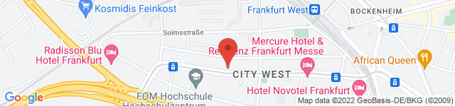 Bodystreet Frankfurt City West, Voltastraße 74