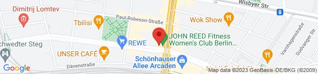 HARD CANDY FITNESS Club Schönhauser Allee, Schönhauser Allee 112