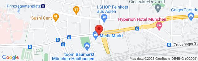Fitness First München - Im Einstein, Einsteinstraße 130