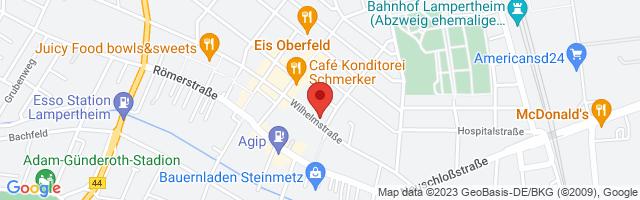 cf Fitness Lampertheim, Wilhelmstraße 45