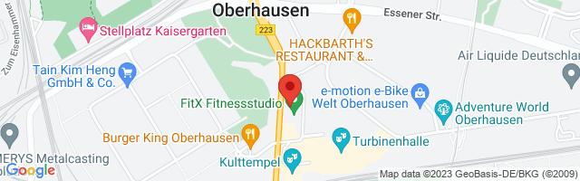 FitX Studio Oberhausen-Sterkrade, Mülheimer Straße 14-18