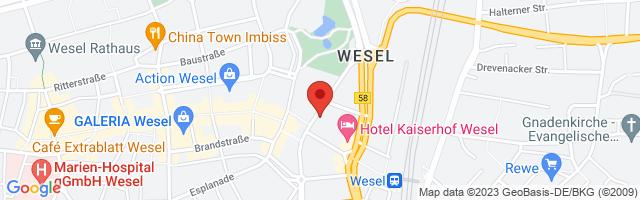 Kieser Training Wesel, Friedrichstraße 6